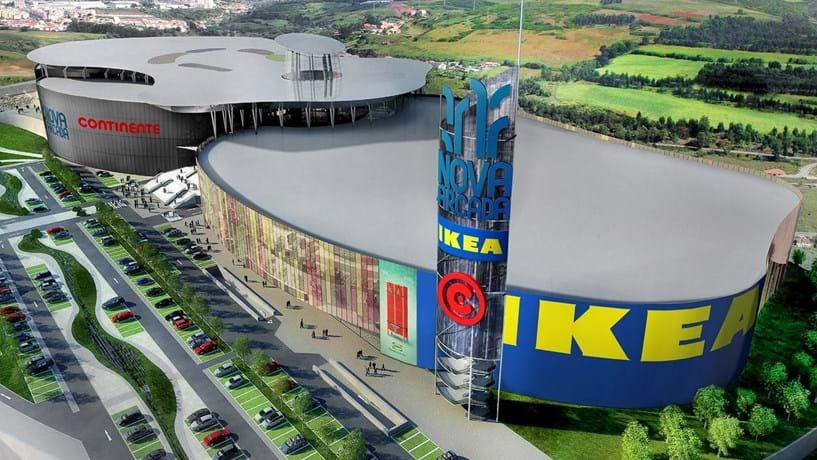 Centro Comercial Nova Arcada E Ikea Abrem Em Braga