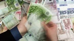 Dinheiro Euros notas