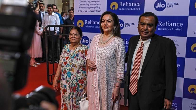 Ambani, da Reliance Industries